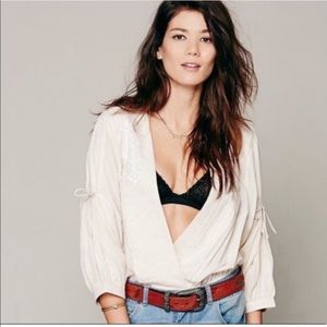 Free People | Crazy Love Open Blouse Extra Small